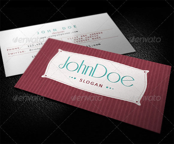 Classic Retro Business Card preview