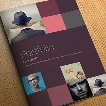 Exo indesign portfolio template crs indesign templates for Free indesign portfolio templates