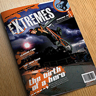 InDesign extreme magazine template preview
