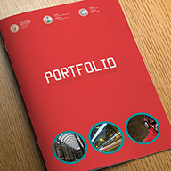 InDesign photo portfolio template preview