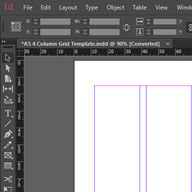 4 Column Grid Template Preview