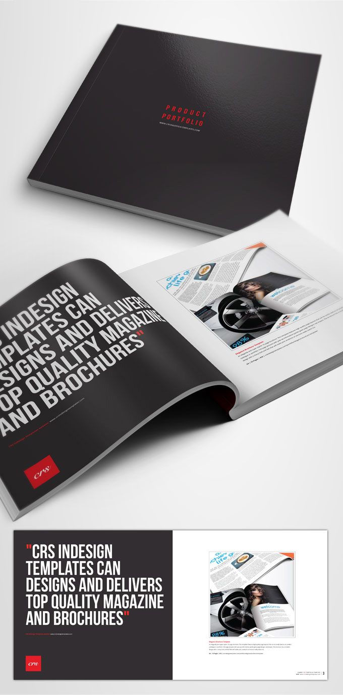portfolio brochure template - free indesign brochure template crs indesign templates