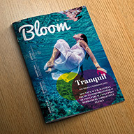 Bloom magazine tempalte thumbnail